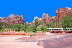 εθνικό πάρκο ΗΠΑ Utah zion Στοκ Εικόνες