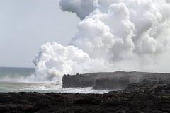 Εθνικό πάρκο ηφαιστείων της Χαβάης, ΗΠΑ Στοκ φωτογραφία με δικαίωμα ελεύθερης χρήσης