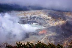 Εθνικό πάρκο ηφαιστείων Poas, Κόστα Ρίκα Στοκ φωτογραφίες με δικαίωμα ελεύθερης χρήσης