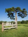 Εθνικό πάρκο δικαστηρίων κομητειών Appomattox Στοκ φωτογραφίες με δικαίωμα ελεύθερης χρήσης