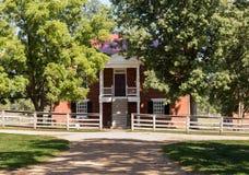 Εθνικό πάρκο δικαστηρίων κομητειών Appomattox Στοκ εικόνα με δικαίωμα ελεύθερης χρήσης
