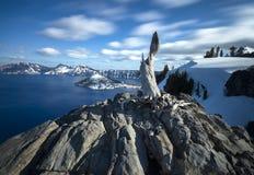 Εθνικό πάρκο λιμνών κρατήρων Στοκ φωτογραφίες με δικαίωμα ελεύθερης χρήσης