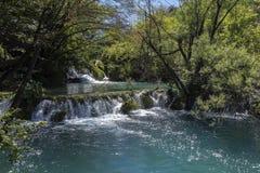 Εθνικό πάρκο λιμνών Plitvice - Κροατία Στοκ Φωτογραφία