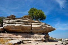 εθνικό πάρκο Ισπανία EL torcal Στοκ Φωτογραφίες