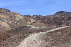 Εθνικό πάρκο κοιλάδων θανάτου, Καλιφόρνια, ΗΠΑ Στοκ Εικόνες