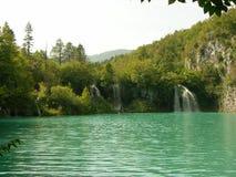 Εθνικό πάρκο Κροατία λιμνών Plitvice Στοκ Εικόνα