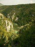 Εθνικό πάρκο Κροατία λιμνών Plitvice Στοκ Φωτογραφίες