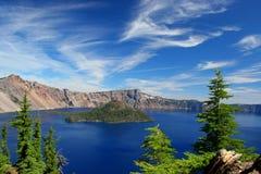 εθνικό πάρκο λιμνών κρατήρω&nu Στοκ Εικόνα
