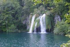 Εθνικό πάρκο λιμνών Κροατία-Plitvice Στοκ Εικόνες