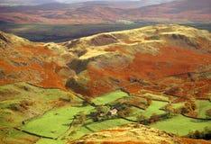 εθνικό πάρκο λιμνών περιοχής cumbria στοκ εικόνες με δικαίωμα ελεύθερης χρήσης