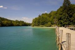 Εθνικό πάρκο λιμνών Plitvice (Κροατία) Στοκ Φωτογραφία