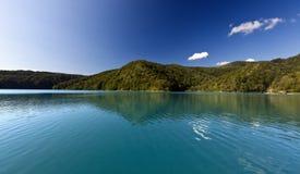 Εθνικό πάρκο λιμνών Plitvice, Κροατία Στοκ Φωτογραφία