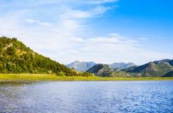 Εθνικό πάρκο λιμνών Skadar, Μαυροβούνιο Στοκ φωτογραφία με δικαίωμα ελεύθερης χρήσης