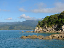 Εθνικό πάρκο Νέα Ζηλανδία του Abel Tasman Στοκ Εικόνες