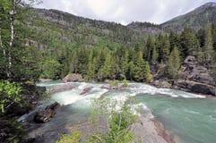 Εθνικό πάρκο παγετώνων στοκ φωτογραφίες