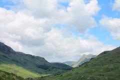 Εθνικό πάρκο περιοχής λιμνών λίγο Langdale Cumbria Στοκ εικόνα με δικαίωμα ελεύθερης χρήσης