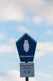 Εθνικό πάρκο πουλιών σημαδιών Στοκ Εικόνα