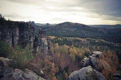 Εθνικό πάρκο στη Γερμανία Στοκ εικόνα με δικαίωμα ελεύθερης χρήσης