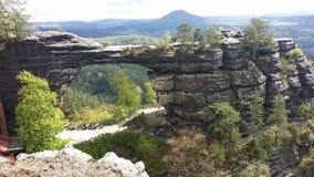 Εθνικό πάρκο στη Δημοκρατία της Τσεχίας Στοκ Εικόνες