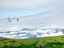 Εθνικό πάρκο της Ισλανδίας Skaftafell το βουνό 2017 Στοκ εικόνα με δικαίωμα ελεύθερης χρήσης