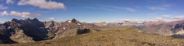 εθνικό πάρκο της Μοντάνα παγετώνων Λήφθείτε σε μια ανάβαση της ΑΜ Siyeh στοκ φωτογραφία με δικαίωμα ελεύθερης χρήσης