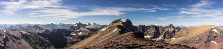 εθνικό πάρκο της Μοντάνα παγετώνων Λήφθείτε σε μια ανάβαση της ΑΜ Siyeh στοκ εικόνες