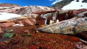 εθνικό πάρκο της Μοντάνα παγετώνων Στοκ Εικόνες