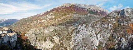 Εθνικό πάρκο του Abruzzo, Ιταλία Στοκ φωτογραφίες με δικαίωμα ελεύθερης χρήσης