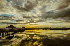 Εθνικό πάρκο του Sam Roi Yot Khao στην Ταϊλάνδη Στοκ Εικόνες