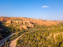 Εθνικό πάρκο φαραγγιών του Bryce στη Γιούτα, ΗΠΑ στοκ φωτογραφία με δικαίωμα ελεύθερης χρήσης