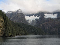 Εθνικό πάρκο φιορδ Kenai, Seward, Αλάσκα, ΗΠΑ Στοκ φωτογραφία με δικαίωμα ελεύθερης χρήσης