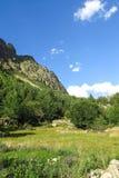 Εθνικό πάρκο Aigüestortes στα καταλανικά Πυρηναία, Ισπανία στοκ εικόνες
