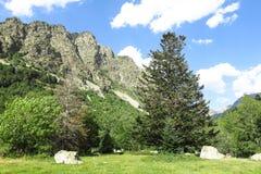 Εθνικό πάρκο Aiguestortes στα καταλανικά Πυρηναία, Ισπανία στοκ εικόνες