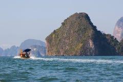 Εθνικό πάρκο AO Phang Nga ταξιδιού της Ταϊλάνδης Στοκ φωτογραφίες με δικαίωμα ελεύθερης χρήσης