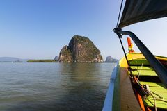 Εθνικό πάρκο AO Phang Nga Στοκ Φωτογραφίες