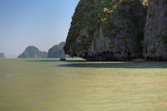 Εθνικό πάρκο AO Phang Nga Στοκ Εικόνες