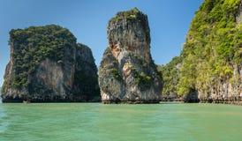 Εθνικό πάρκο AO Phang Nga Στοκ φωτογραφίες με δικαίωμα ελεύθερης χρήσης