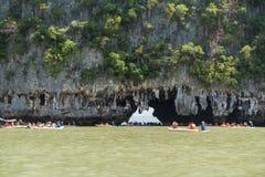Εθνικό πάρκο AO Phang Nga Στοκ φωτογραφία με δικαίωμα ελεύθερης χρήσης