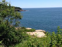 Εθνικό πάρκο Arcadia Στοκ Εικόνες