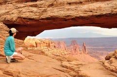 Εθνικό πάρκο Canyonlands αψίδων Mesa Στοκ εικόνες με δικαίωμα ελεύθερης χρήσης