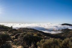 Εθνικό πάρκο EL Teide Στοκ Φωτογραφίες