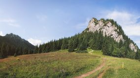 Εθνικό πάρκο Fatra Mala, Σλοβακία Στοκ Εικόνες