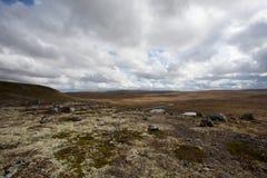 εθνικό πάρκο hardangervidda Στοκ εικόνες με δικαίωμα ελεύθερης χρήσης