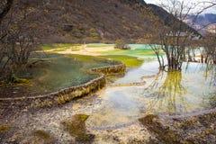 Εθνικό πάρκο Huanglong Στοκ Εικόνες