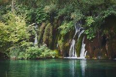 Εθνικό πάρκο Jezera Plitvicka Στοκ εικόνες με δικαίωμα ελεύθερης χρήσης