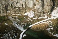 Εθνικό πάρκο Jezera Plitvicka Στοκ φωτογραφία με δικαίωμα ελεύθερης χρήσης