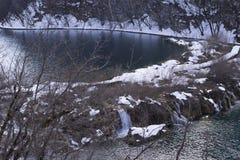 Εθνικό πάρκο Jezera Plitvicka Στοκ Εικόνα