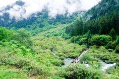 εθνικό πάρκο jiuzhaigou της Κίνας sicuan Στοκ εικόνες με δικαίωμα ελεύθερης χρήσης