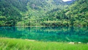 εθνικό πάρκο jiuzhaigou της Κίνας sicuan Στοκ Φωτογραφίες