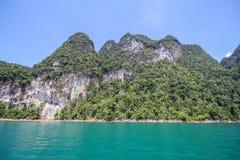 Εθνικό πάρκο KHAO SOK, Suratthani Ταϊλάνδη Στοκ φωτογραφίες με δικαίωμα ελεύθερης χρήσης